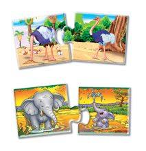 Spoločenské hry pre deti - Náučná hra Zvieratá a mláďatá Dohány 32 ks_1