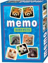 Pexeso állatkölykökkel Memóriajáték Dohány 32 db