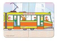Puzzle pre najmenších - Baby puzzle Duo Dopravné prostriedky Dohány 8x2 dieliky 8-obrázkové od 24 mes_2