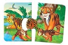 Puzzle pre najmenších - Baby puzzle Duo Safari Dohány 8x2 dieliky 8-obrázkové od 24 mes_1