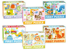 Puzzle pre najmenších - Puzzle Baby First Farma Dohány 4-obrázkové od 24 mes_0