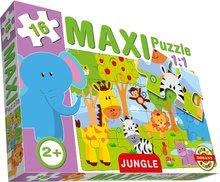 Puzzle pre najmenších - Baby puzzle Maxi Džungľa Dohány 16 dielov od 24 mes_0