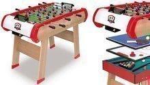 Masă de fotbal Power Play 4in1 Smoby multifuncţionala de la 8 ani