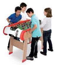 Stolný futbal - Drevený futbalový stôl Powerplay 4v1 Smoby stolný futbal, biliard, hokej a tenis od 8 rokov_1
