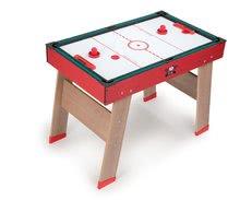 Stolný futbal - Drevený futbalový stôl Powerplay 4v1 Smoby stolný futbal, biliard, hokej a tenis od 8 rokov_3