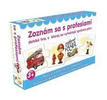 Náučná detská spoločenská hra Zoznám sa s profesiami Dohány od 3 rokov (jazykové verzie SR, CR, HU, RO) DH645-08