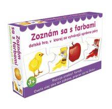 Náučná detská spoločenská hra Zoznám sa s farbami Dohány od 3 rokov (jazykové verzie SR, CR, HU, RO) DH645-10