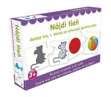 Náučná detská spoločenská hra Nájdi tieň Dohány od 3 rokov (jazykové verzie SR, CR, HU, RO) DH645-11
