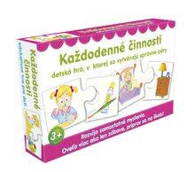 Náučná detská spoločenská hra Každodenné činnosti Dohány od 3 rokov (jazykové verzie SR, CR, HU, RO) DH645-12