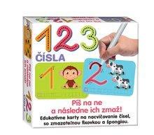 Náučná detská hra 123 čísla-napíš a zmaž Dohány od 5 rokov (jazykove verzie SR, CR, HU, RO) DH646-02