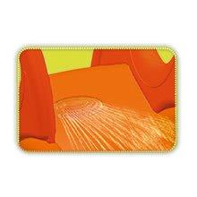 Tobogane pentru copii - Tobogan Winnie the Pooh XS Smoby cu apă și 90 cm suprafață de alunecare portocaliu cu filtru UV de la 24 de luni_3