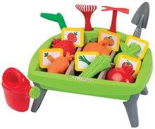 Zeleninová zahrada pro děti Jardin&Saisons Écoiffier s formičkami a nářadím od 18 měsíců
