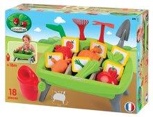 Hry na záhradníka - Zeleninová záhrada Jardin&Saisons Écoiffier s formičkami a náradím od 18 mes_4