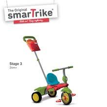 Trojkolky od 10 mesiacov - Trojkolka Joy 4v1 Touch Steering smarTrike červeno-zelená od 10 mes_3