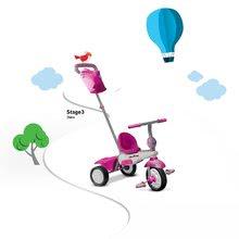 Trojkolky od 10 mesiacov - Trojkolka Joy Touch Steering smarTrike ružovo-biela od 10 mes_7