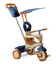 Tříkolka Vanilla Touch Steering 4v1 smarTrike se slunečníkem modro-oranžová od 10 měsíců