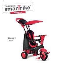 Trojkolky od 10 mesiacov - Trojkolka Spark Touch Steering 4v1 Black&Red smarTrike červeno-čierna od 10 mes_0