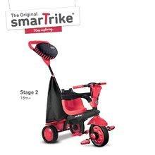 Trojkolky od 10 mesiacov - Trojkolka Spark Touch Steering 4v1 Black&Red smarTrike červeno-čierna od 10 mes_2