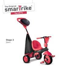 Trojkolky od 10 mesiacov - Trojkolka Spark Touch Steering 4v1 Black&Red smarTrike červeno-čierna od 10 mes_3