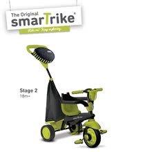 Trojkolky od 10 mesiacov - Trojkolka Spark Touch Steering 4v1 smarTrike zeleno-čierna od 10 mes_1