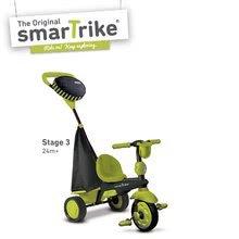 Trojkolky od 10 mesiacov - Trojkolka Spark Touch Steering 4v1 smarTrike zeleno-čierna od 10 mes_2