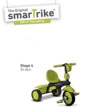 Trojkolky od 10 mesiacov - Trojkolka Spark Touch Steering 4v1 smarTrike zeleno-čierna od 10 mes_3