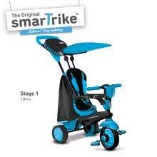 Trojkolky od 10 mesiacov - Trojkolka Spark Blue Touch Steering 4v1 smarTrike modro-čierna od 10 mes_5