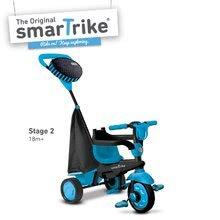 Trojkolky od 10 mesiacov - Trojkolka Spark Blue Touch Steering 4v1 smarTrike modro-čierna od 10 mes_6