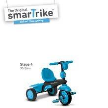 Trojkolky od 10 mesiacov - Trojkolka Spark Blue Touch Steering 4v1 smarTrike modro-čierna od 10 mes_8
