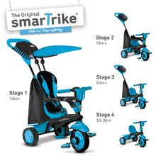 Trojkolky od 10 mesiacov - Trojkolka Spark Blue Touch Steering 4v1 smarTrike modro-čierna od 10 mes_9
