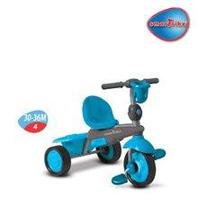 Trojkolky od 10 mesiacov - Trojkolka Spirit Touch Steering smarTrike modro-šedá od 10 mes_3