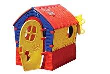 Detský domček Fairies Dream House Marianplast od 24 mesiacov červeno-žltý