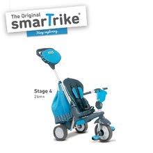 Trojkolky od 10 mesiacov - Trojkolka Splash 5v1 Blue smarTrike 360° riadenie s polohovateľnou opierkou modro-šedá od 10 mes_3
