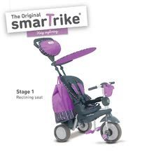Tricikli Splash 5in1 Purple smarTrike 360° irányítás dönthető háttámlával lila-szürke 10 hó-tól