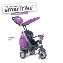 Trojkolky od 10 mesiacov - Trojkolka Splash 5v1 Purple smarTrike 360° riadenie s polohovateľnou opierkou fialovo-šedá od 10 mes_0