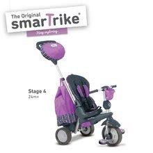 Trojkolky od 10 mesiacov - Trojkolka Splash 5v1 Purple smarTrike 360° riadenie s polohovateľnou opierkou fialovo-šedá od 10 mes_2