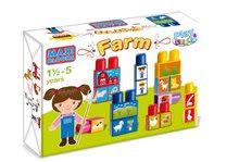 Detská stavebnica kocky Maxi Farma Dohány od 18 mesiacov