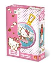 Detské skákadlá a hopsadlá - Lopta na skákanie Kangaroo Hello Kitty Mondo s držiakom 45 cm_0