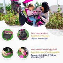 Trojkolky od 10 mesiacov - Trojkolka Glow 4v1 Touch Steering Black&Pink smarTrike ružovo-čierna od 10 mes_7
