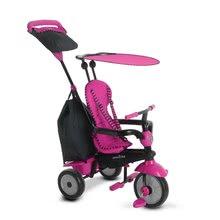 Trojkolky od 10 mesiacov - Trojkolka Glow 4v1 Touch Steering Black&Pink smarTrike ružovo-čierna od 10 mes_1