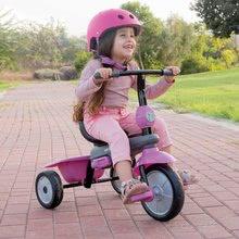 Trojkolky od 10 mesiacov - Trojkolka Shine 4v1 Touch Steering Grey&Pink smarTrike šedo-ružová od 10 mes_2