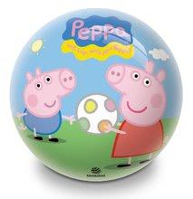 Detská rozprávková lopta Prasiatko Peppa Pig Mondo gumená 23 cm