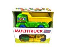 Stavebnica kocky Maxi Dohány v nákladnom aute od 18 mes