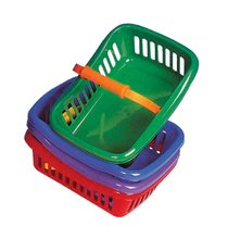 Játékkonyha kiegészítők és edények - Piknik kosár Dohány kicsi különböző színek_0