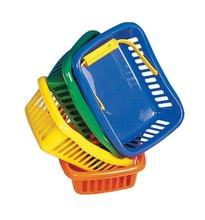 Játékkonyha kiegészítők és edények - Piknik kosár Dohány kicsi különböző színek_1