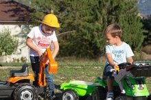 Preliezačky sety - Set preliezačka Tour Aventure Smoby so šmykľavkou dĺžka 160 cm a šliapací traktor RX Bull s prívesom_10