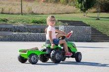 Preliezačky sety - Set preliezačka Tour Aventure Smoby so šmykľavkou dĺžka 160 cm a šliapací traktor RX Bull s prívesom_13