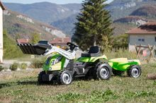 Preliezačky sety - Set preliezačka Tour Aventure Smoby so šmykľavkou dĺžka 160 cm a šliapací traktor RX Bull s prívesom_14