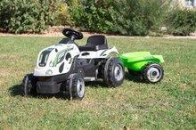 Otroška vozila na pedala - 710113 h smoby traktor