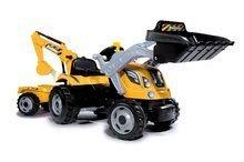 Detská dielňa sety - Set pracovná dielňa Black+Decker Smoby s vŕtačkou a traktor Power Builder Max s prívesom a bagrom_16